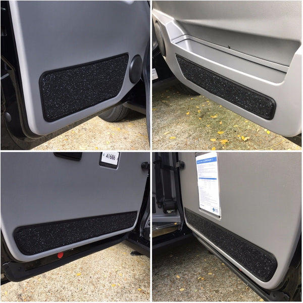 LTI / LTC TX4 F+R Door Carpet Set London Taxi (2010 > 2017) (4 piece set)