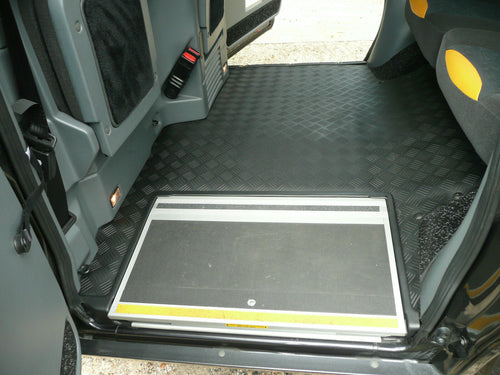 LTI / LTC TX4 Rear Replacement RUBBER Mat (2010-2017)