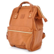 Anello Leather Hinge Clasp Backpack Small