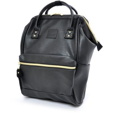 Anello Leather Hinge Clasp Backpack Mini
