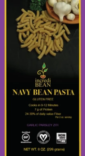 NAVY BEAN GLUTEN-FREE PASTA-GARLIC PARSLEY - Gluten free Pasta