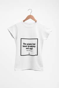 Music Quoted Printed T-Shirt Type-4