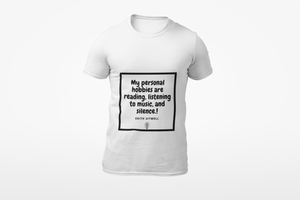 Music Quoted Printed T-Shirt Type-6