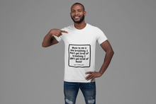 Load image into Gallery viewer, Music Quoted Printed T-Shirt Type-8