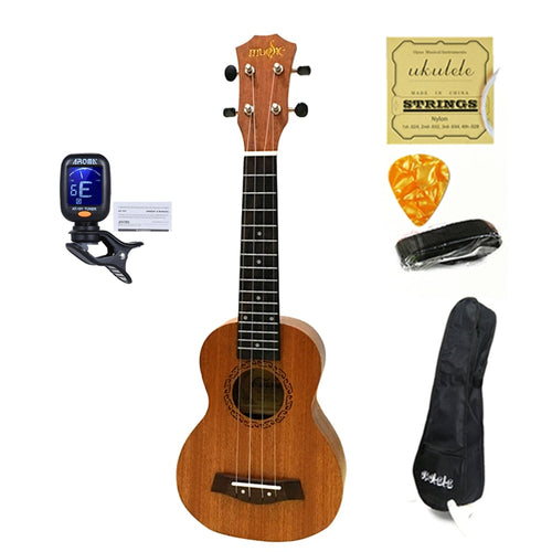 Ukulele Combo with pickup and Uku