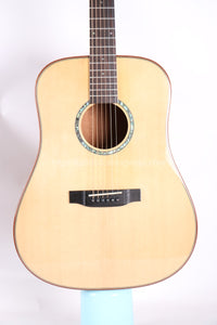 "Finlay 41"" Full Solid Acoustic Guitar with hard case"