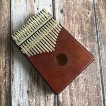 Load image into Gallery viewer, 17 Key Kalimba African (Solid Pine Mahogany)