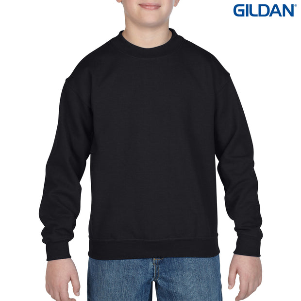 18000B Gildan Heavy Blend Youth Crewneck Sweatshirt