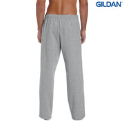 18400 Gildan Heavy Blend Adult Open Bottom Sweatpants