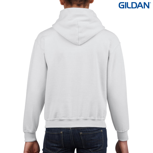 18500B Gildan Heavy Blend Youth Hooded Sweatshirt
