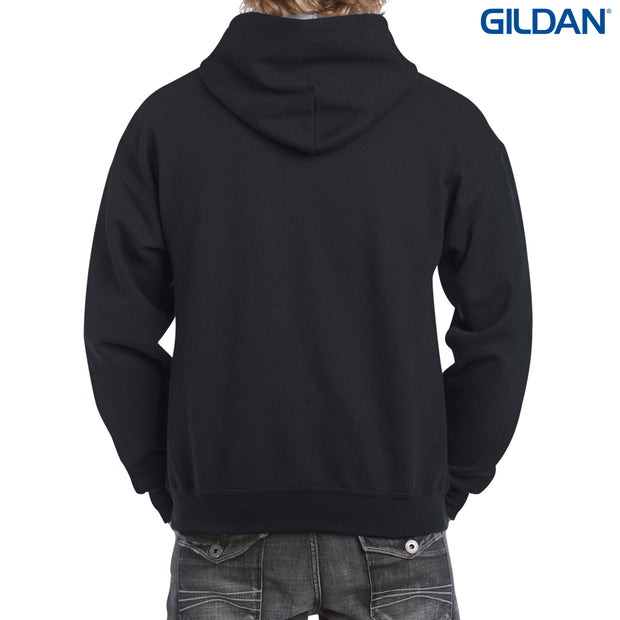 185C00 Gildan Heavy Blend Adult Contrast Hooded Sweatshirt