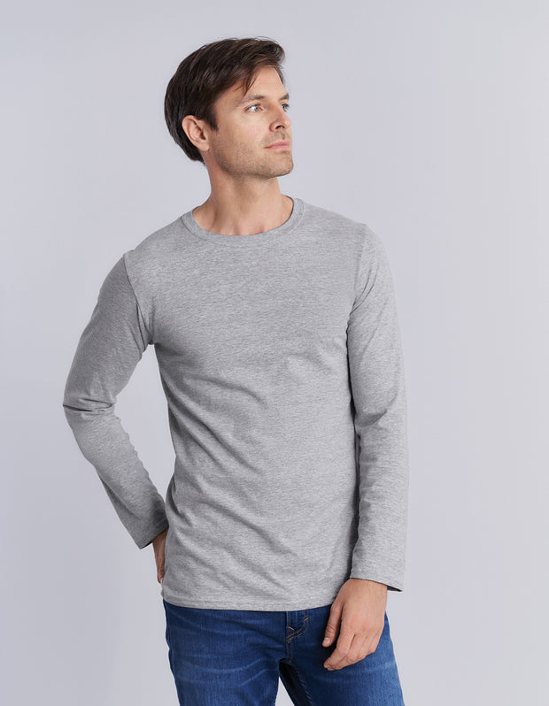 64400 Gildan Softstyle Adult Long Sleeve T-Shirt