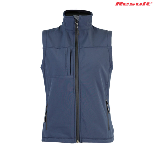 R014F Result Ladies' Classic Softshell Vest