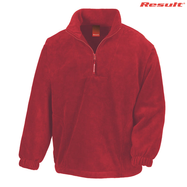 R033X Result Adult Polartherm Qtr. Zip Top