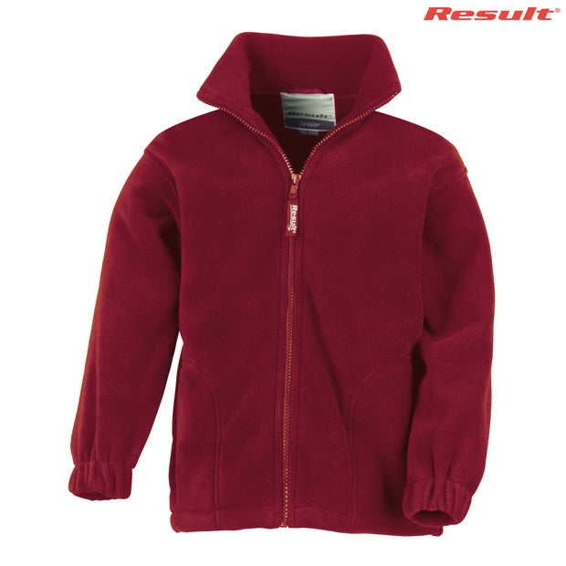 R036B Result Youth Polartherm Full Zip Top