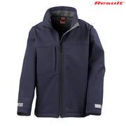 R121B Result Youth Classic Softshell Jacket