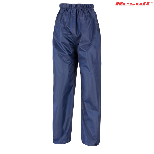 R226B Result Youth Rain Trousers