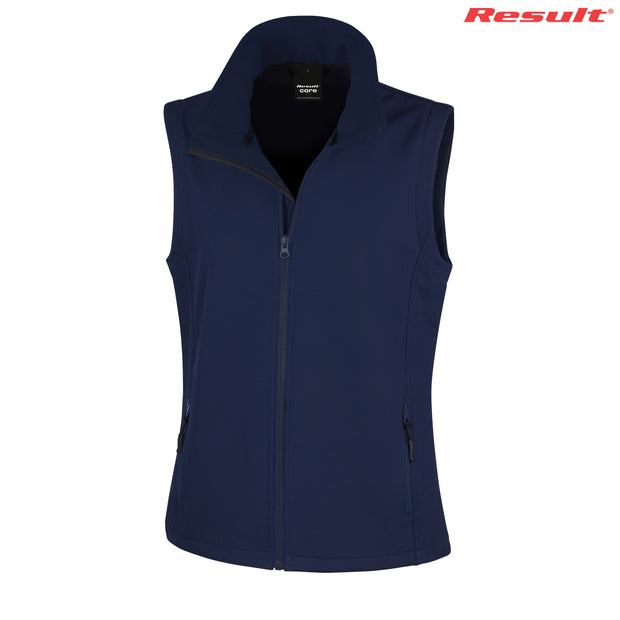 R232F Result Ladies' Printable Softshell Vest