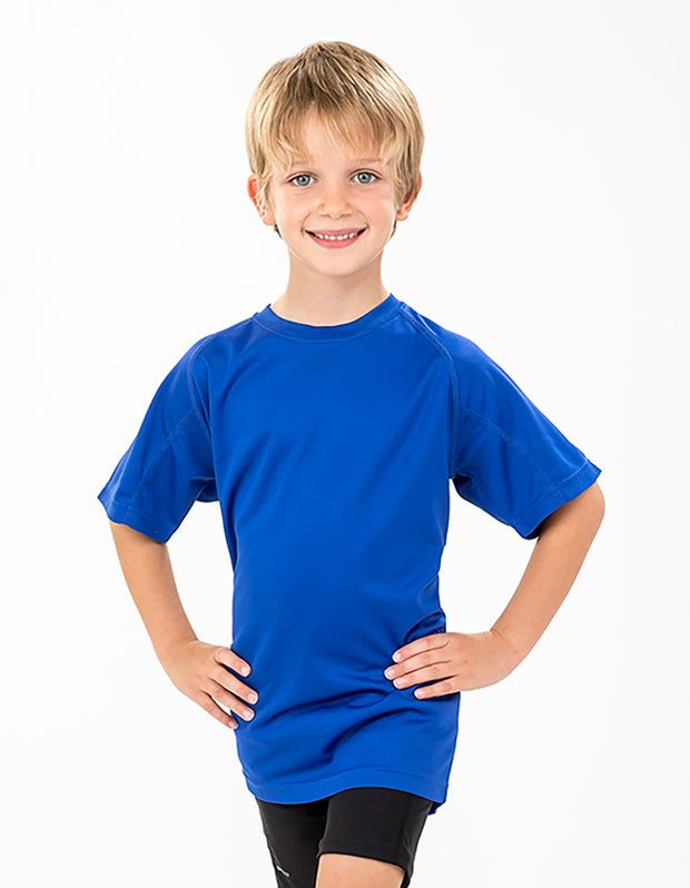 S287B Spiro Youth Impact Performance Aircool T-Shirt