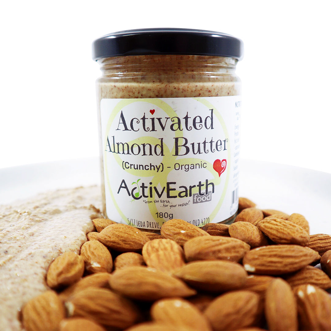 Activated Crunchy Almond Butter