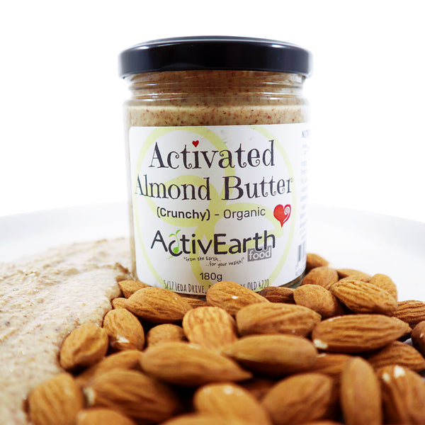 Activated Crunchy Almond Butter (500g)
