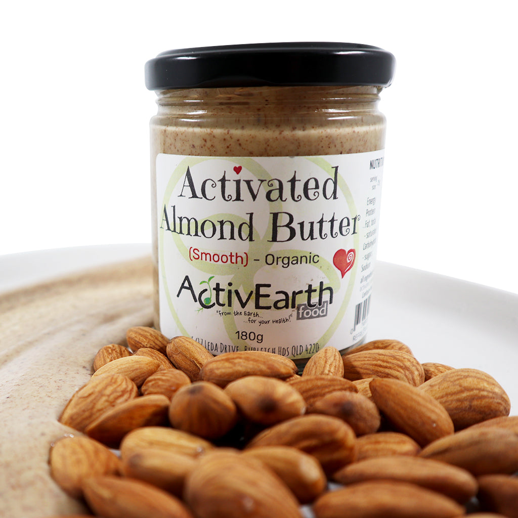 Activated Smooth Almond Butter (500g)