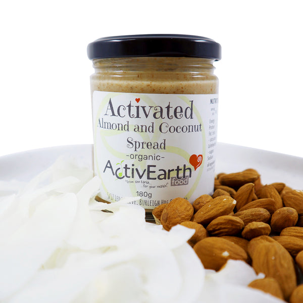 Activated Almond and Coconut Spread