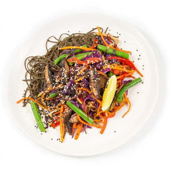 Black Bean Noodle Salad