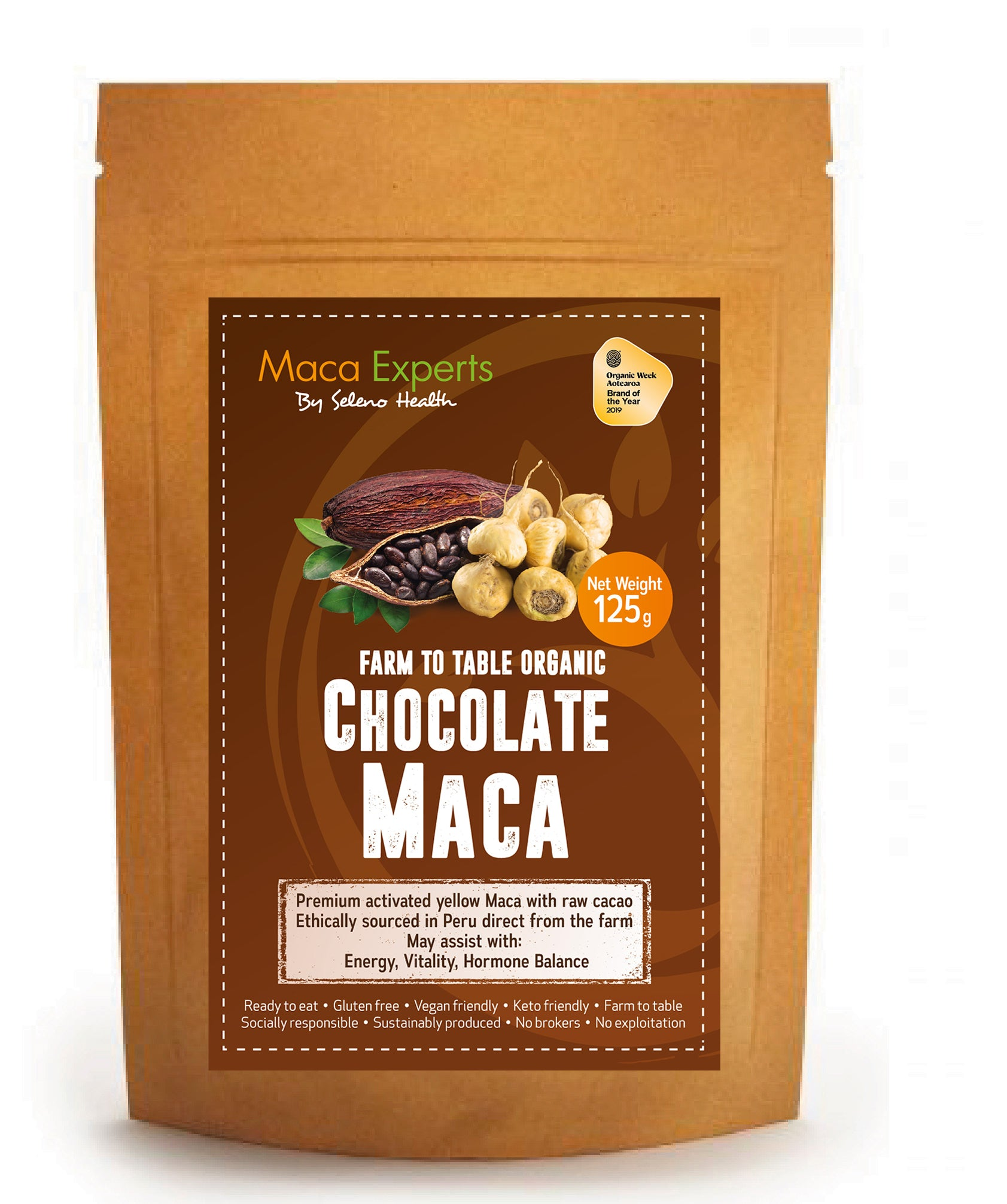 Activated Chocolate Maca