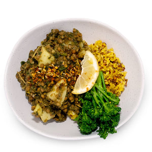 Lentil Lemon Spinach Curry