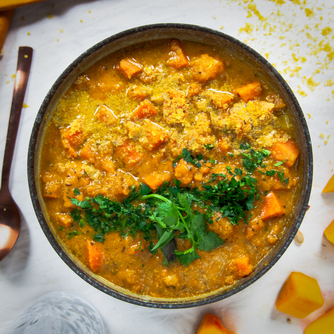 Medicinal Turmeric Vegetable Soup