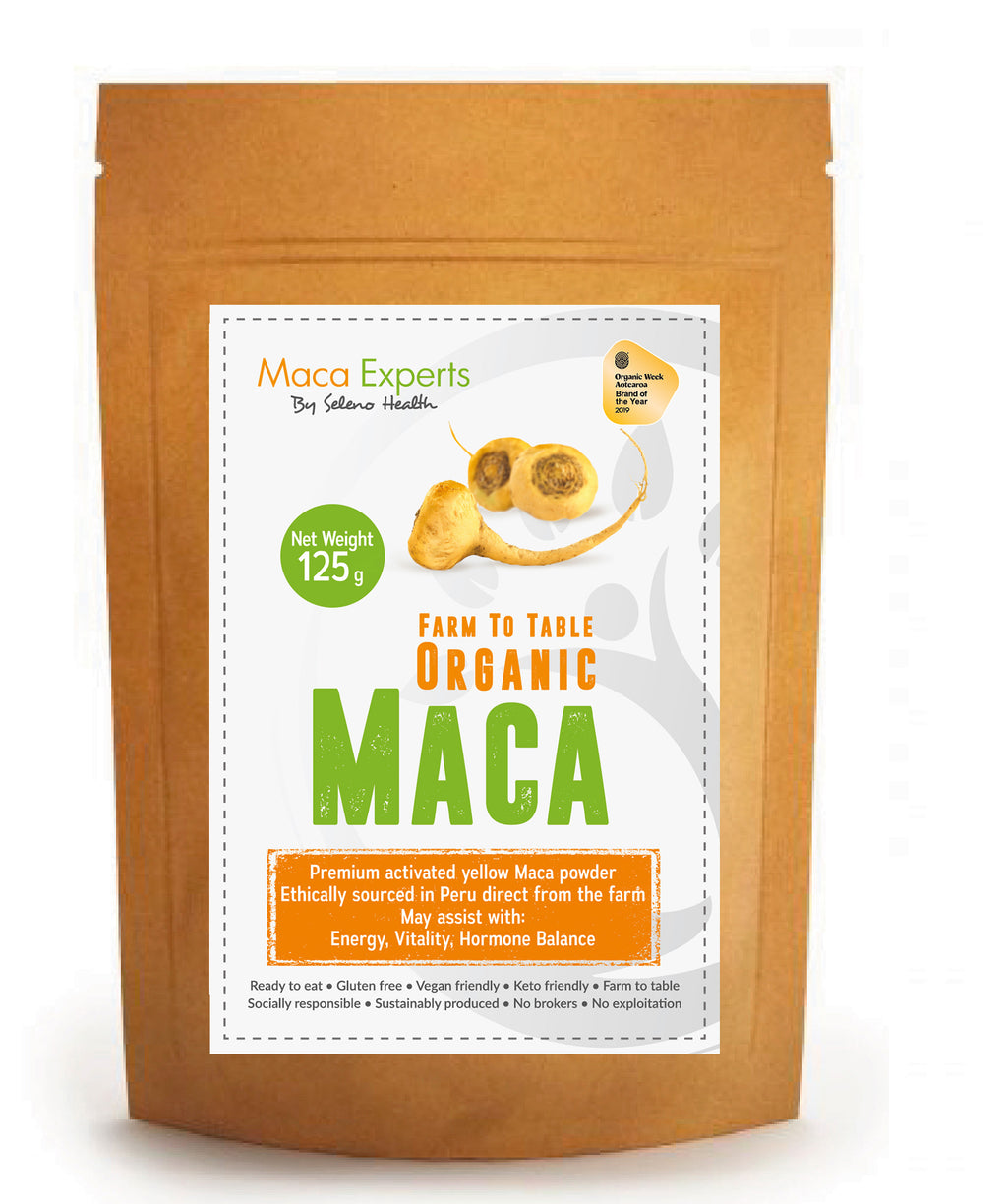 Activated Yellow Maca