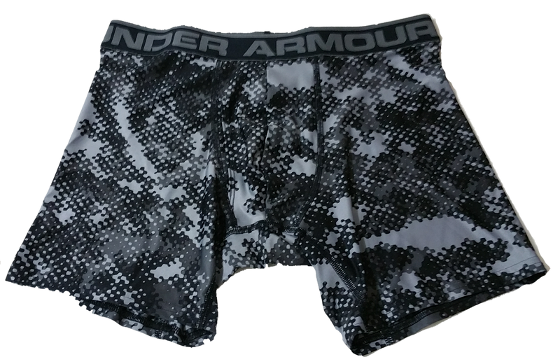 "Under Armour Original BoxerJock Brief 6""(Inch) Seasonal Print"