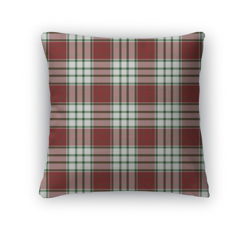 Throw Pillow, Plaid Pattern