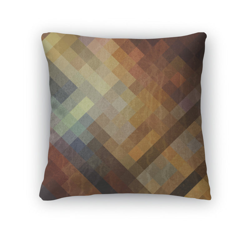 Throw Pillow, Grunge Paper Vintage