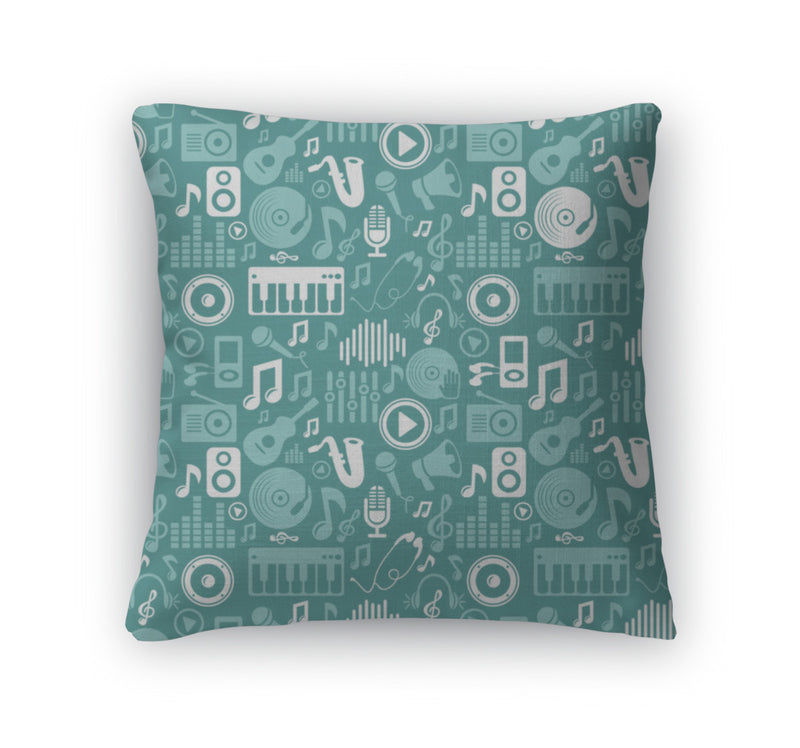 Throw Pillow, Music Pattern