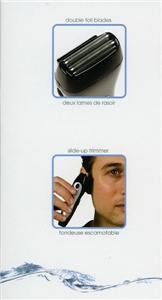CLIO RECHARGEABLE ELECTRIC SHAVER