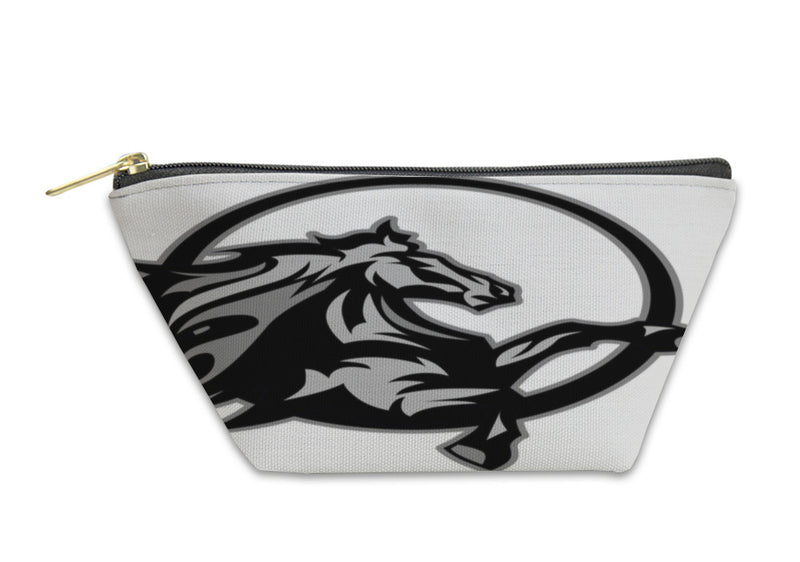 Accessory Pouch, Mustang Stallion Graphic Mascot Image