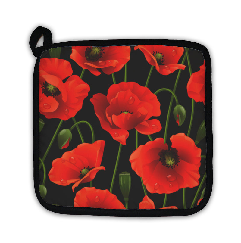 Potholder, Poppy