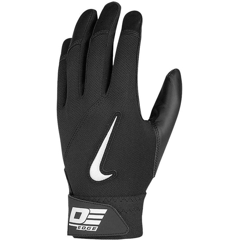 Nike Diamond Elite Edge Adult Batting Glove, Black, Adult Small