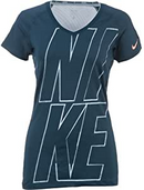 Nike Women Pro II Graphic V-Neck Top