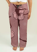 Ladies Pajama Pants with Ballet Dancers