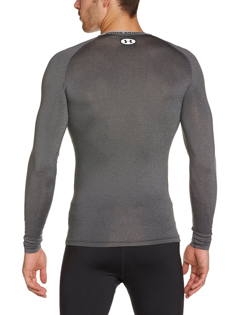 Under Armour Men's HeatGear® Sonic Compression Long Sleeve Small Carbon Heather