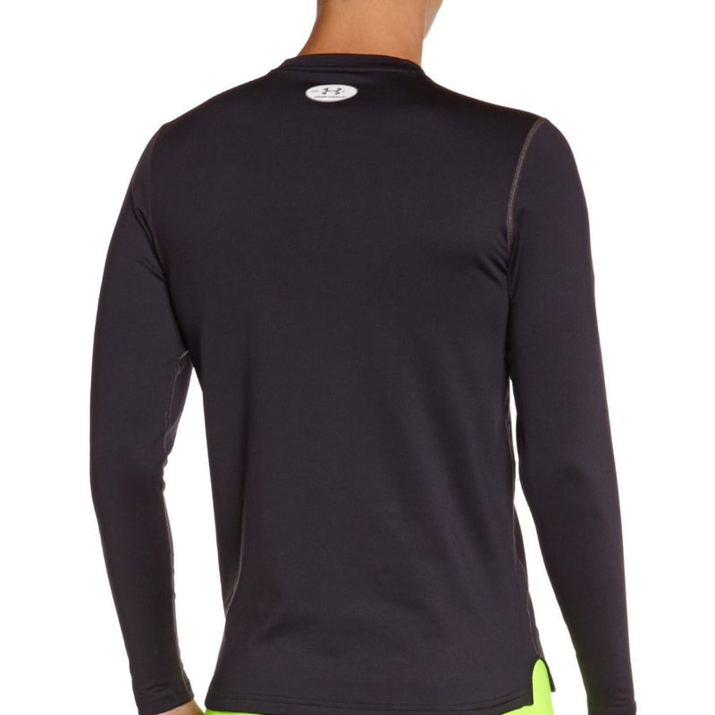 Under Armour men's ColdGear Fitted Long Sleeve Crew Medium Black