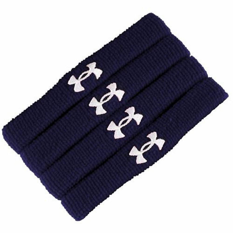 "UNDER ARMOUR 1""(INCH) PERFORMANCE WRISTBAND (4 PACK)"