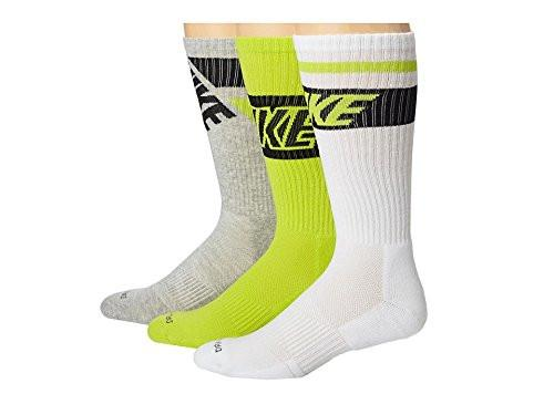 Nike Dri-Fit Cotton  Cushioned Crew Socks Men