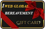 BEREAVEMENT GIFT CARDS