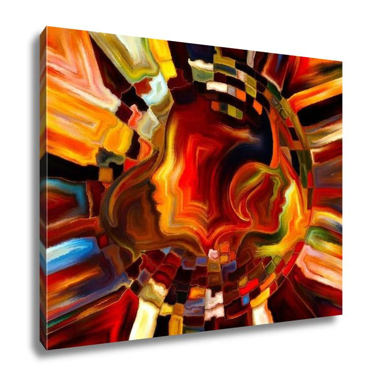 Gallery Wrapped Canvas, Illusions Of Inner Paint