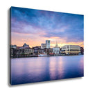 Gallery Wrapped Canvas, Savannah Georgia Riverfont Skyline