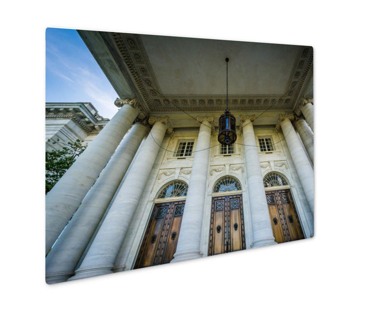 Metal Panel Print, The Exterior Of The Dar Constitution Hall In Washington Dc